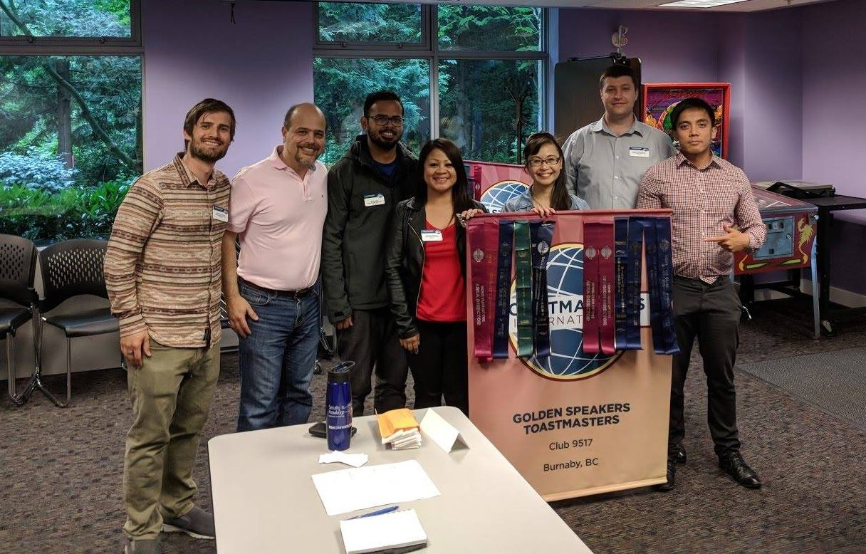 The Golden Speakers Toastmasters Club