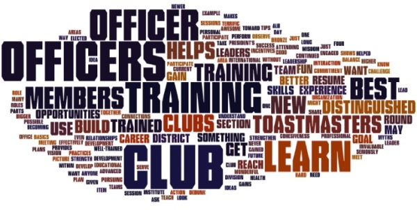 Toastmasters Club Officer Training