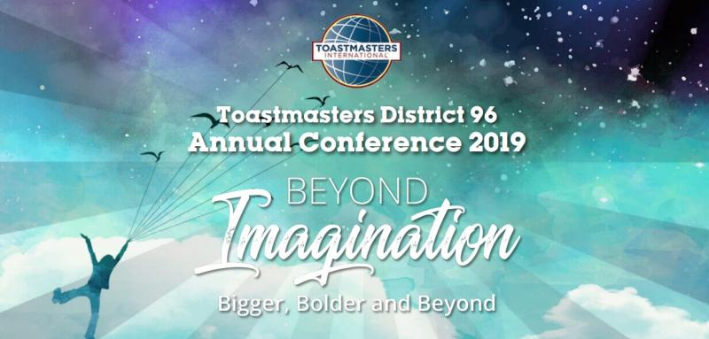 Toastmasters District 96 Annual Conference - March 29-31, 2019 - Pinnacle Hotel at the Pier, North Vancouver